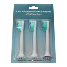 Load image into Gallery viewer, 3PCS Universal Sonic Replacement Toothbrush Head