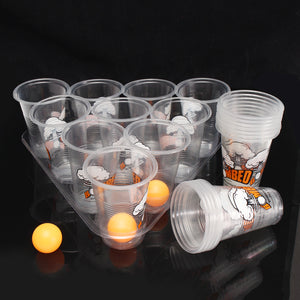 Beer Pong Drinking Game Toy Kit