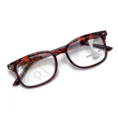 Progressive Multi-Focus Reading Glasses