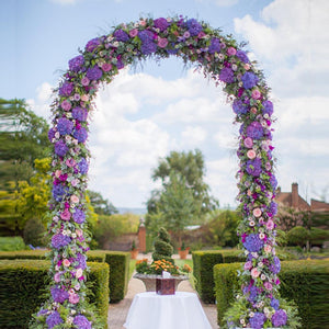 Iron Arch Way Assemble Door Wedding Party