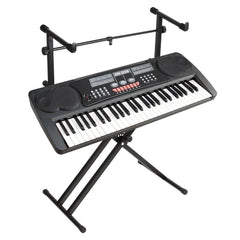 2 Tiers X Style Adjustable Keyboard Stand