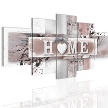 Load image into Gallery viewer, 5 Panels Love Home Wall Art