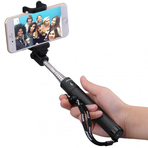 Mpow iSnap X One-piece U-Shape Self-portrait Monopod Extendable Selfie Stick - Zalaxy