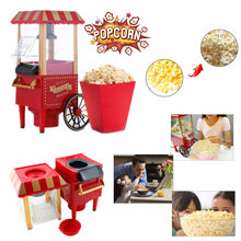 Load image into Gallery viewer, Intage Retro Electric Popcorn Maker Popper Machine Home Party Carnival Kitchen Appliance