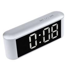Load image into Gallery viewer, Digital Time Display Touch LED Mirror Clock