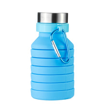 Load image into Gallery viewer, 550ML Folding Water Bottle with Carabiner