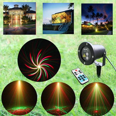 Remote R&G Laser Projector Stage Light