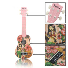 Load image into Gallery viewer, IRIN 21 Inch 4 Strings Basswood Soprano Ukulele Uke Musical Instrument