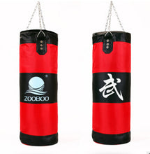 Load image into Gallery viewer, Empty Hanging Boxing Punching Sandbag