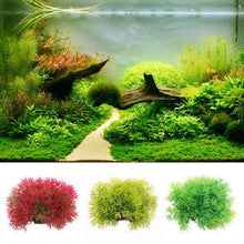 Load image into Gallery viewer, Artificial Grass Aquarium Decor