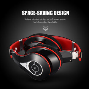 Mpow Foldable Wireless Bluetooth Noise Cancelling Stereo Headphone - Zalaxy