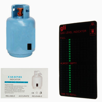 Gas Tank Level Indicator Magnetic Gauge Caravan Bottle
