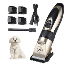 Load image into Gallery viewer, USB Rechargeable Pet Hair Clipper Trimmer Kit