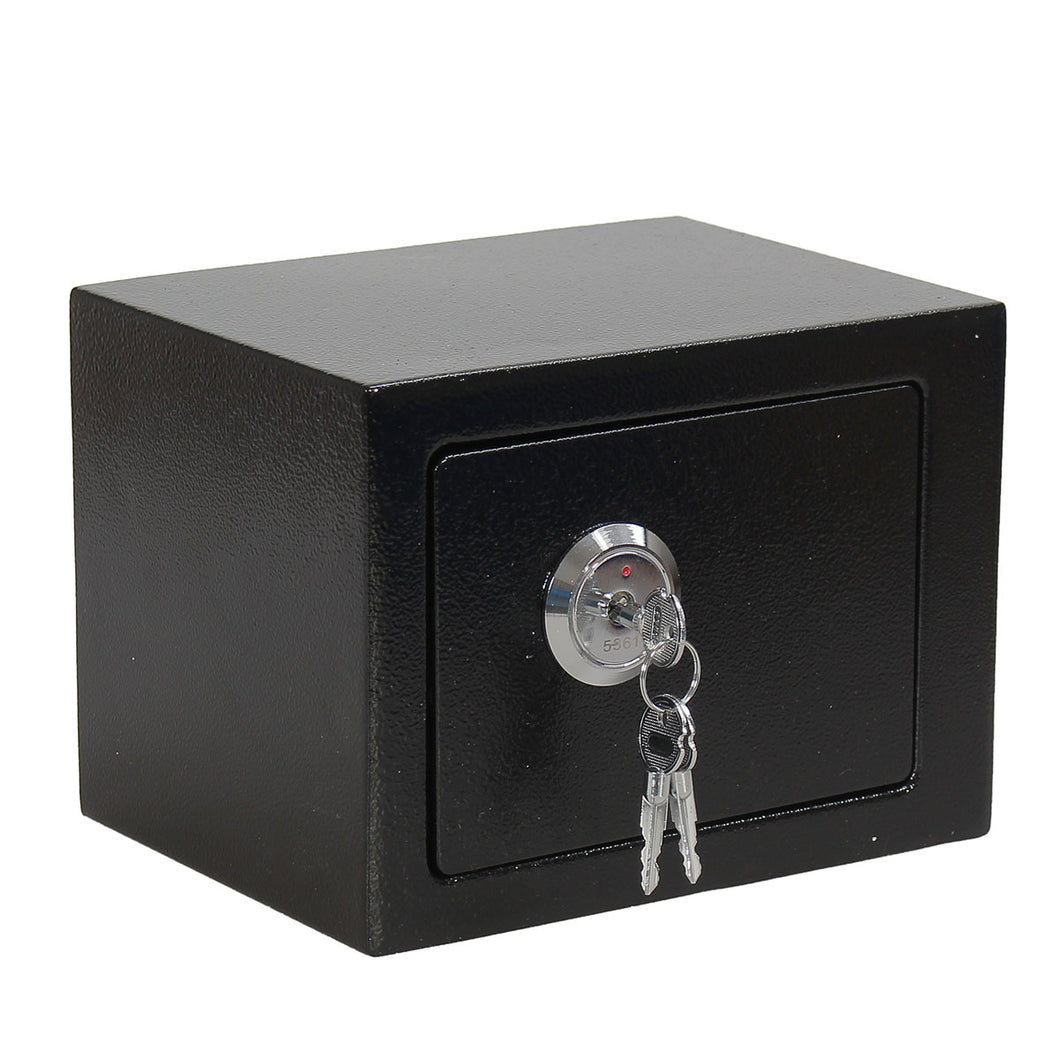 Iron Steel Black Key Operated Safe Box