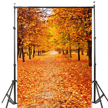 Load image into Gallery viewer, Vinyl Autumn Fall Photography Background