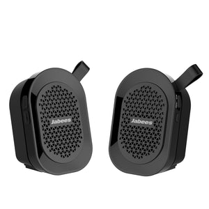 Jabees Mini Portable Bluetooth Twins Splashproof Speaker - Zalaxy