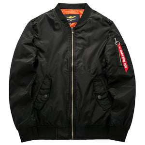 XS-6XL Thick Bomber Jacket