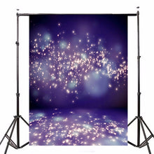 Load image into Gallery viewer, 5x7ft Purple Fantasy Halo Backdrop Studio Vinyl Photography Background Backdrops