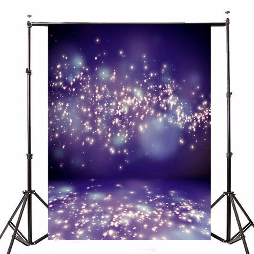 5x7ft Purple Fantasy Halo Backdrop Studio Vinyl Photography Background Backdrops