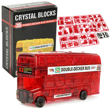 Load image into Gallery viewer, Double Decker 3D Crystal Puzzle Jigsaw Blocks