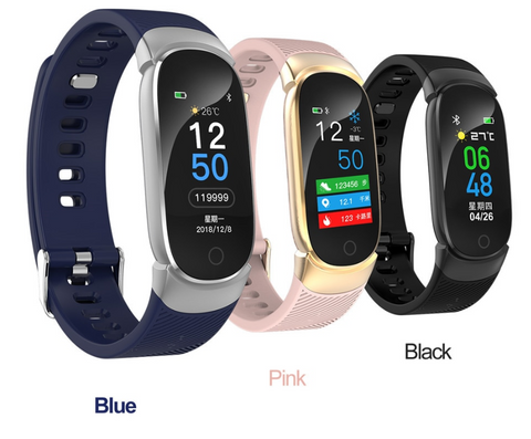 Women Sport Smart Watch Led Waterproof