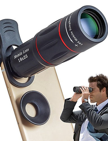 Cell Phone Lens Universal 18X Optical Zoom