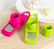 Load image into Gallery viewer, Garlic Press Peeler Grater