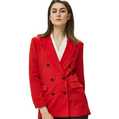 Women Red Suit Jacket