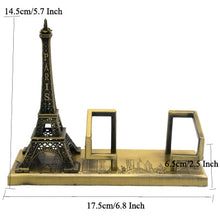 Load image into Gallery viewer, Metal Architecture Figurine Famous Landmarks