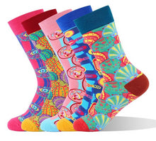 Load image into Gallery viewer, Mens Cotton Thermal Happy Socks