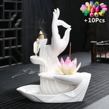 Load image into Gallery viewer, Buddha Hand Backflow Incense Burner - Zalaxy