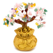 Load image into Gallery viewer, Mini Crystal Money Bonsai Tree