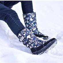 Load image into Gallery viewer, Men's Thick Plush Waterproof Slip-Resistant Winter Shoes