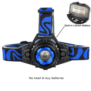 Rechargeable LED Headlamp Waterproof