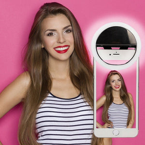 Portable Selfie Light Clip-On Lamp