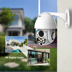Two Way Audio P2P  WIFI Security Cameras