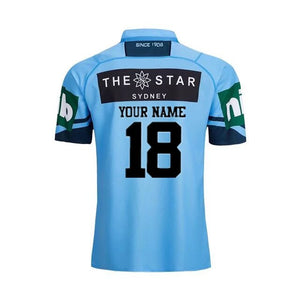 New South Wales Blue Rugby Jersey