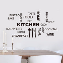 Load image into Gallery viewer, Kitchen Wall Stickers