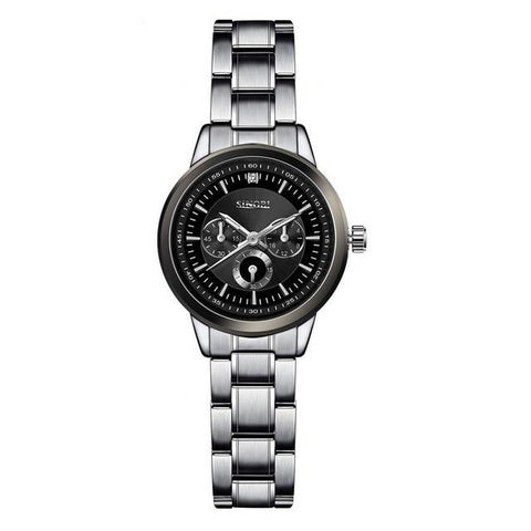 Luxury Silver Quartz Watches - Zalaxy