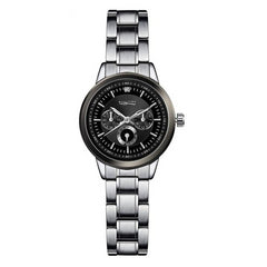 Luxury Silver Quartz Watches