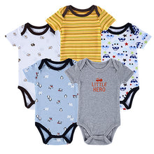 Load image into Gallery viewer, 5 Pieces/lot Newborn Baby Romper - Zalaxy