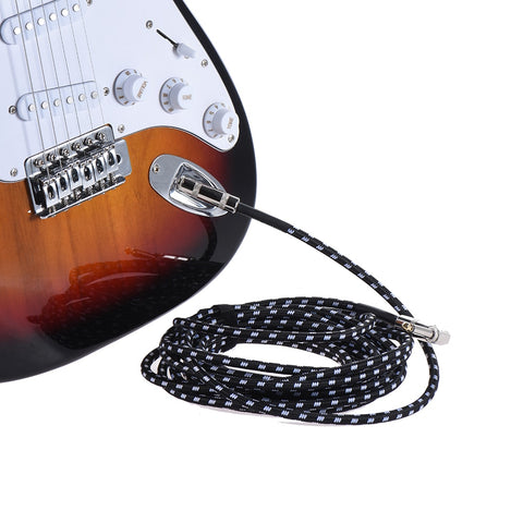 6 Meters/ 20 Feet Electric Guitar Cable - Zalaxy