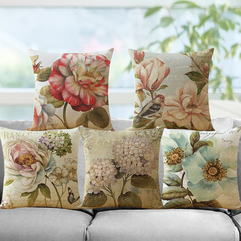 Cotton Linen Cushion Cover - Zalaxy