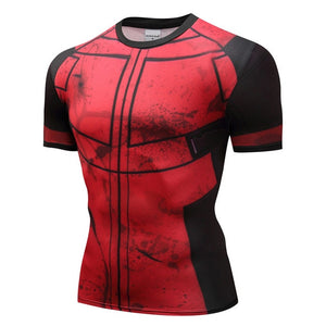 Men Compression Shirts Tops