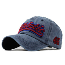 Load image into Gallery viewer, Washed Denim Baseball Cap