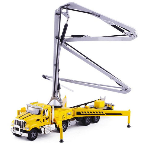 Alloy Diecast Concrete Pump Truck - Zalaxy