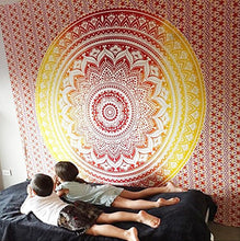 Load image into Gallery viewer, Mandala Tapestry Wall Hanging