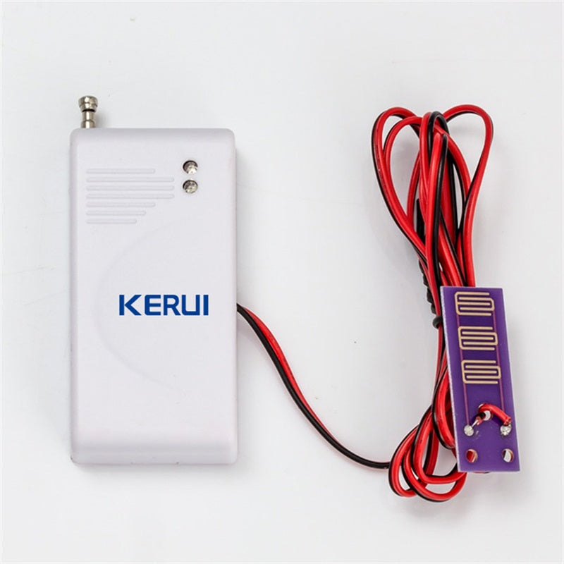 433MHz Wireless Water Intrusion Detector Leak Sensor Work - Zalaxy
