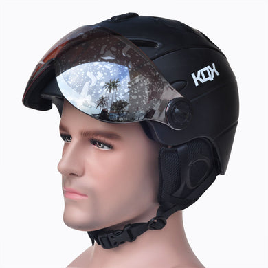 Half-Covered Snowboard Helmet - Zalaxy