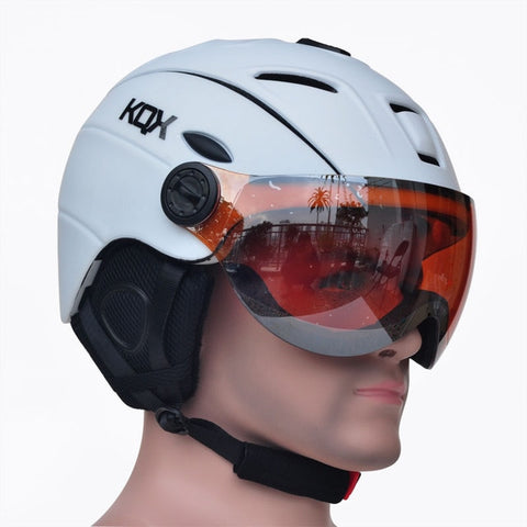Half-Covered Snowboard Helmet